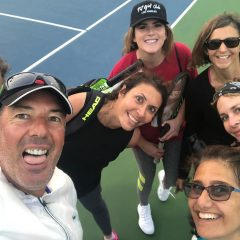 Group Tennis Lessons – 3 Players